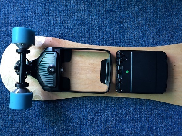 Removable Battery Electric Longboard