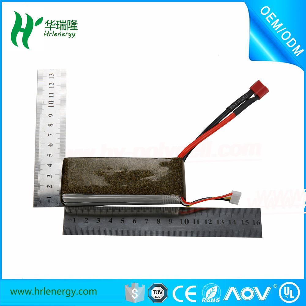RC Battery Pack 3s 2500mAh 35c by China Factory