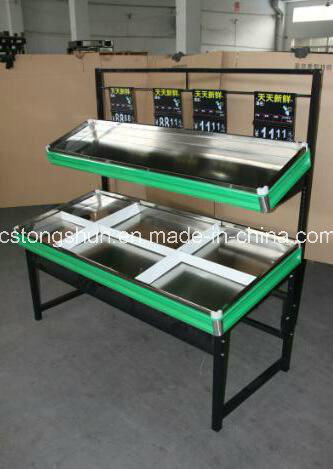 Supermarket Fruit&Vegetale Shelf/Display Stand