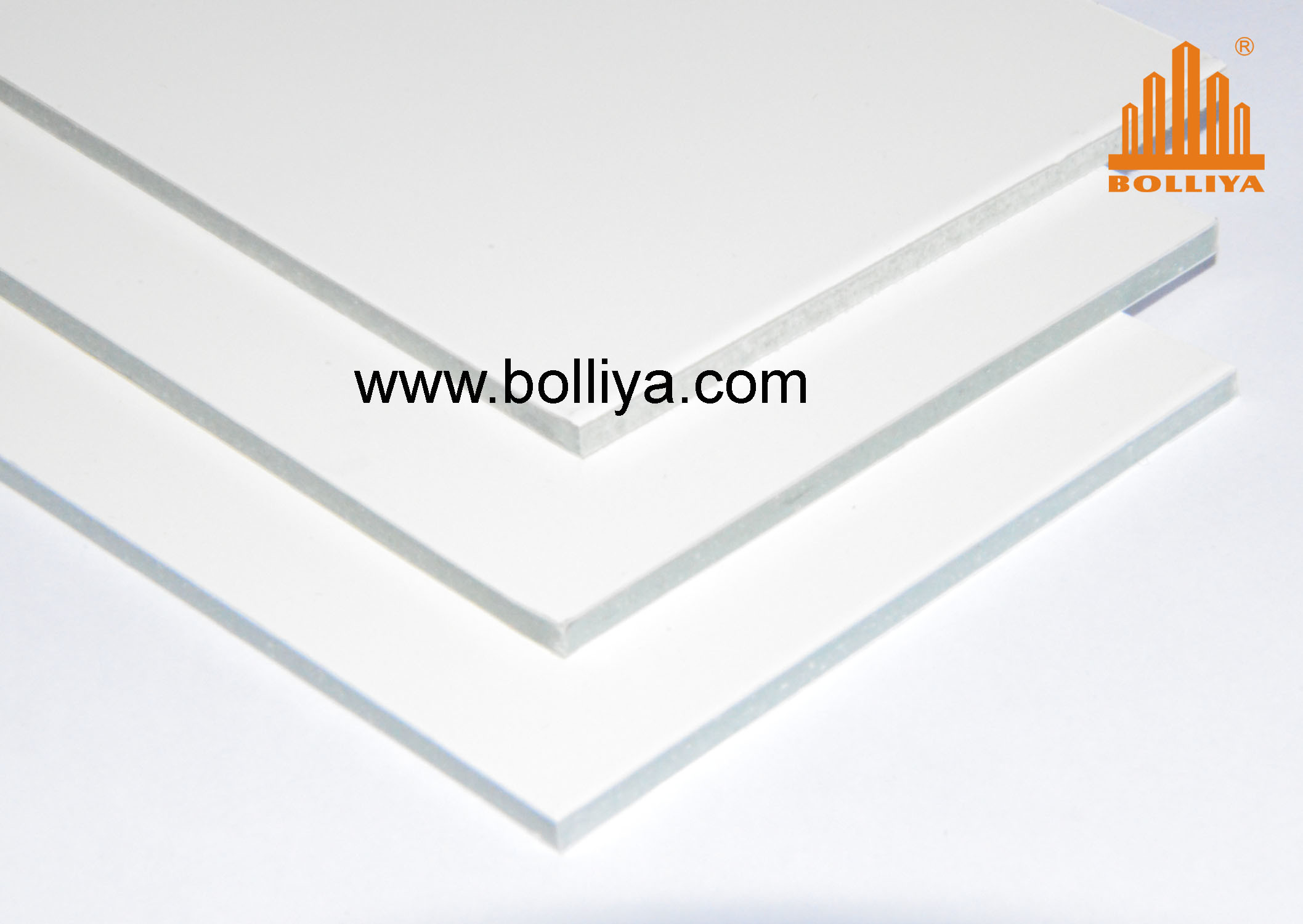 Fire Retardant ACP / Fr Composite Panel / SL-1824 Yellow White