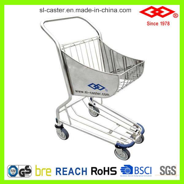 Aluminium Alloy Shopping Trolley Cart for Airport Duty-Free Shop (CA-80)