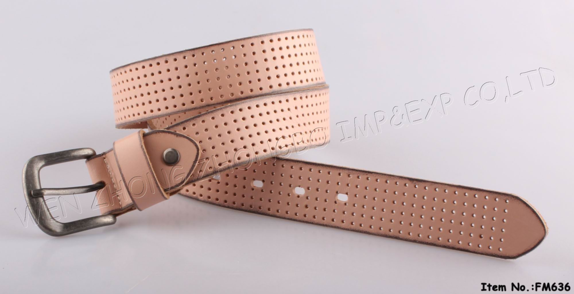 2016 Fashion Genuine Leather Belts for Lady