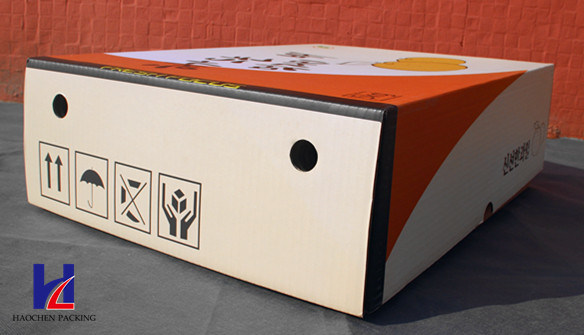 Good Quality Fruit Corrugated Packaging Packing Carton Box