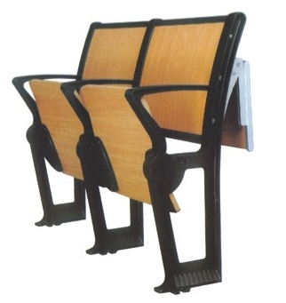 School Desk and Chair with Folding Table and Folding Seat (YA-013)