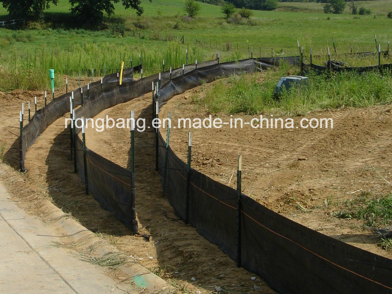Silt Fence with Selvage