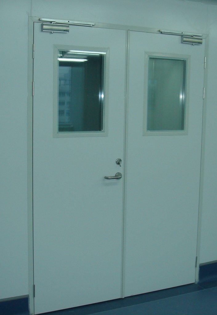 Cleanroom Alu-Sandwich Panel Door (Machine-made panel)