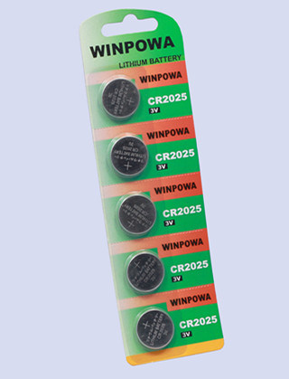 3V Cr1220 Lithium Button Battery for Finger Top
