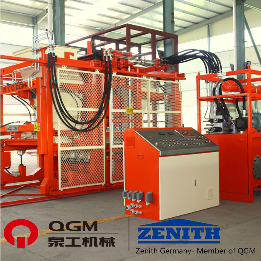 T10 European Quality Full Automatic Concrete Block Making Machine