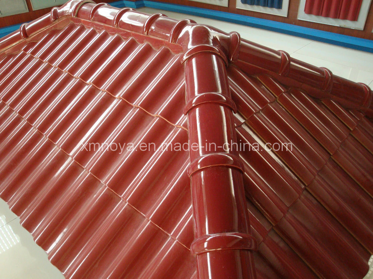Decoration Colorful Glazed Terracotta Clay Ceramic Roof Tile