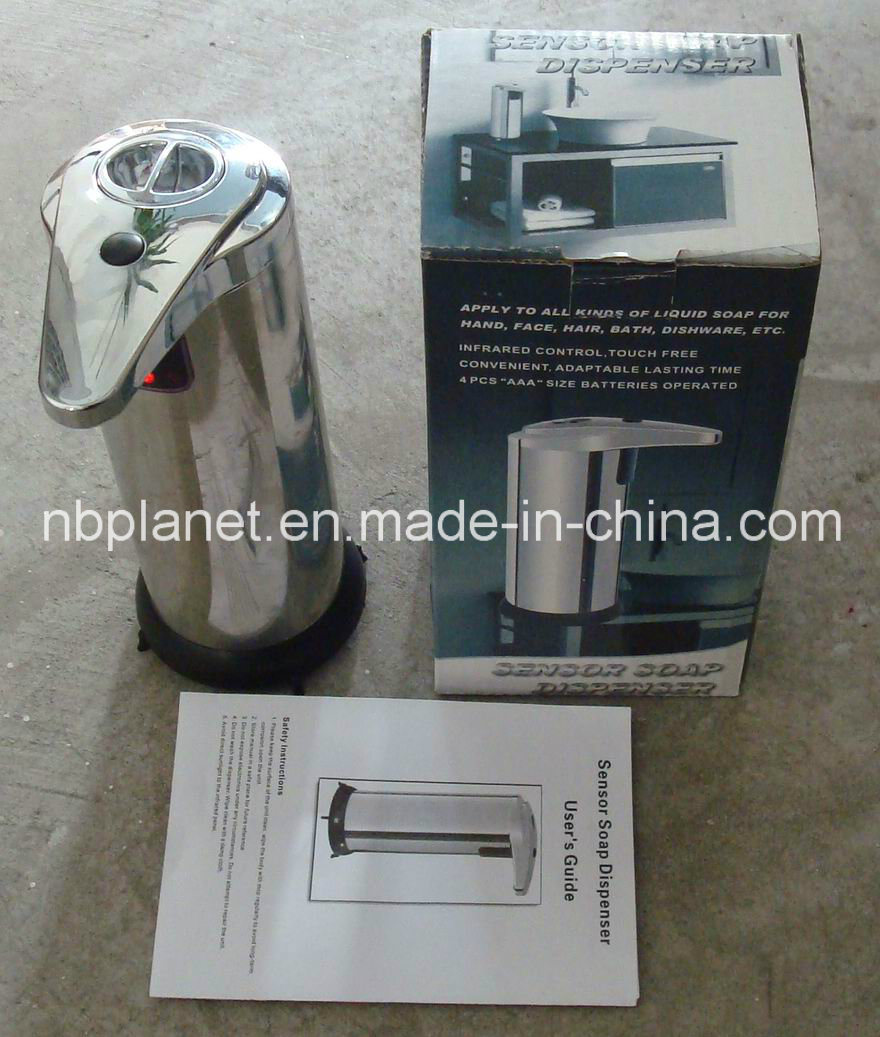 Auto-Induction Stainless Steel Soap Dispenser