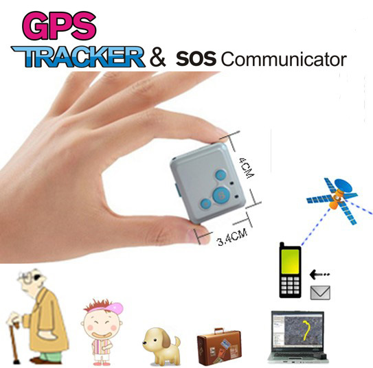 Mini GPS Tracker Watch for Kids and Elderly GSM Monitor Sos Phone Call