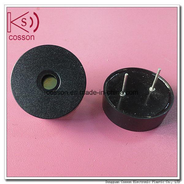 China RoHS 80dB Black Pin Fire Alarm Piezo Buzzer