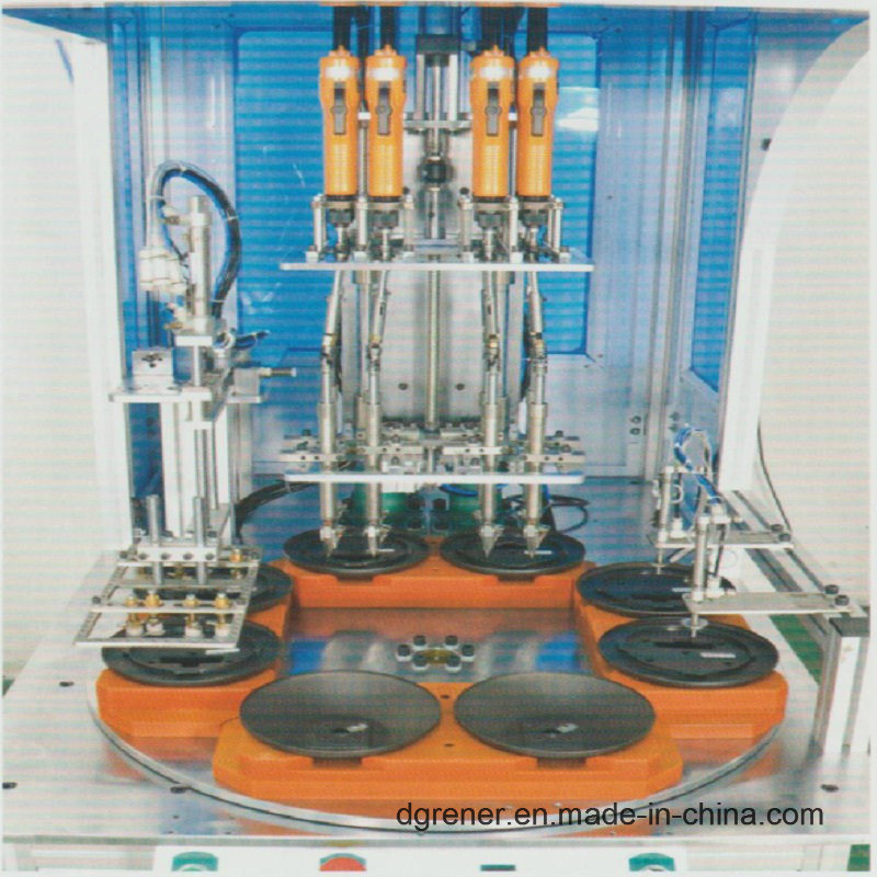 Turntable Multi Station Multi Head Automatic Locking Screw Machine