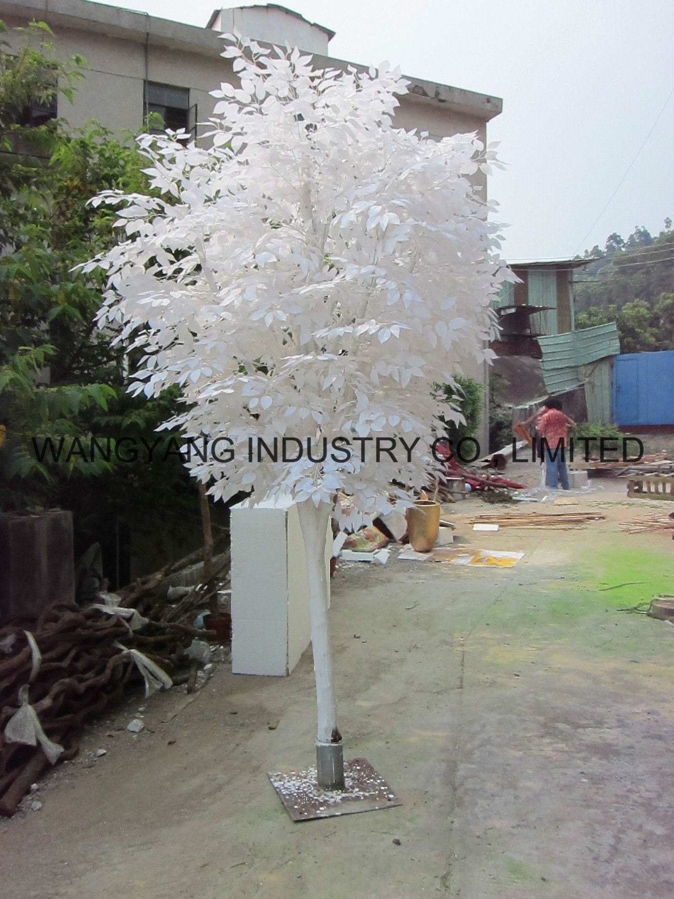 Factory Hot Sale Fake Artificial Synthetic Outdoor Banyan Ficus Tree