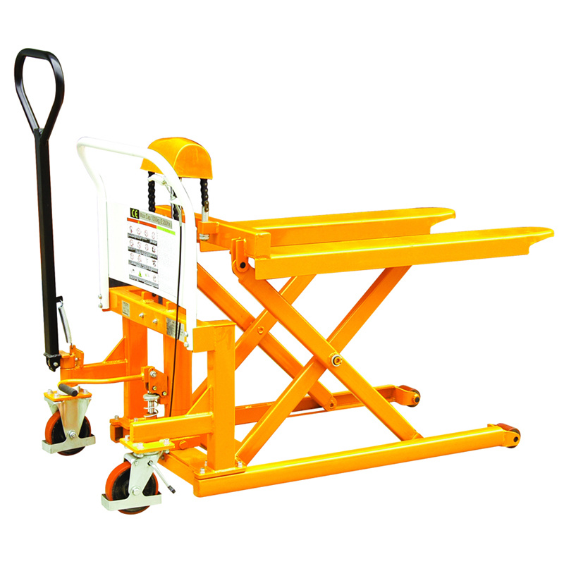 Hydraulic Pallet Lifters : China manual hydraulic skid pallet lifter photos