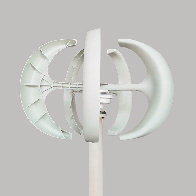 Low Start Wind Speed 12V 24V 300W Vertical Wind Power Generator