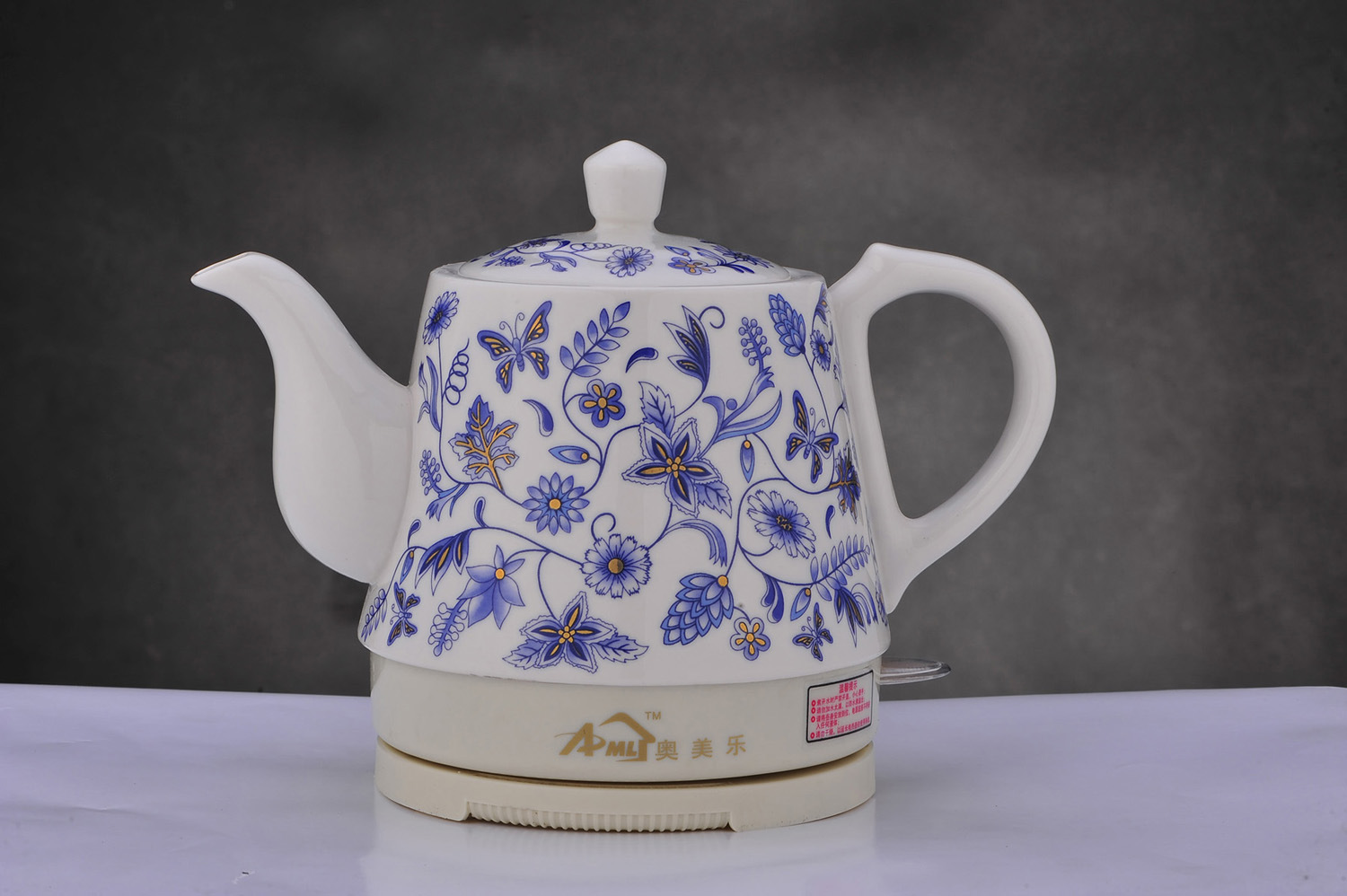 Porcelain Electric Kettle ~ Ceramic electric kettle ml a china
