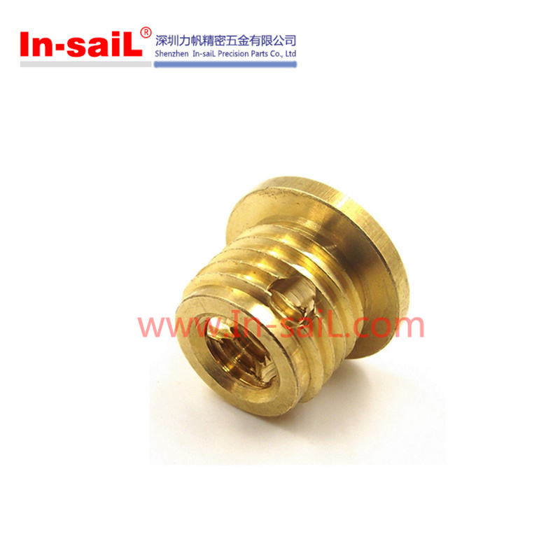 307h Slotted Screwlocking Threaded Insert