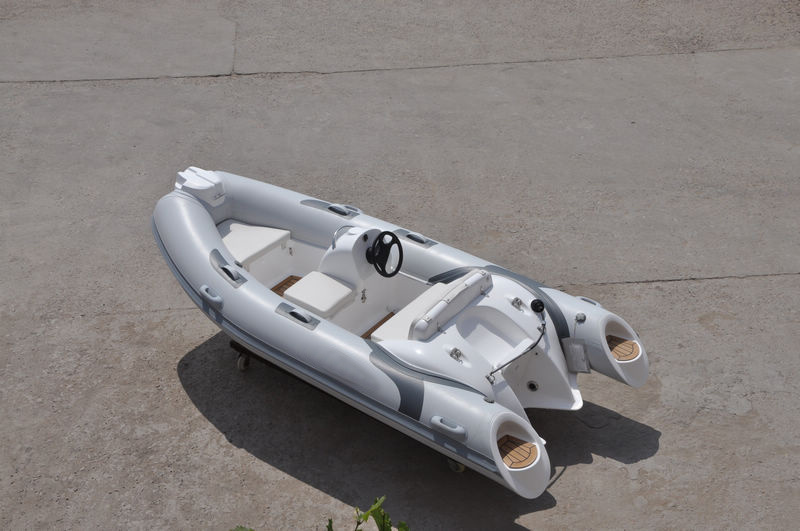Liya Pontoon Boat 3.8m PVC Fishing Dinghy Boat Rib Sale