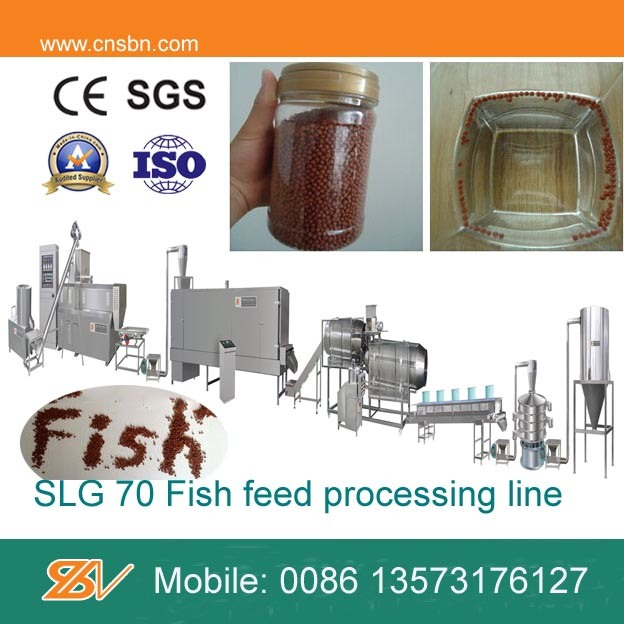 Factory Direct Supply Floating Fish Feed Extruder