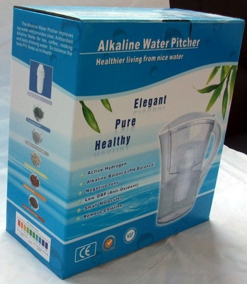 Portable Alkaline Water Pitcher (QY-WFY035A)