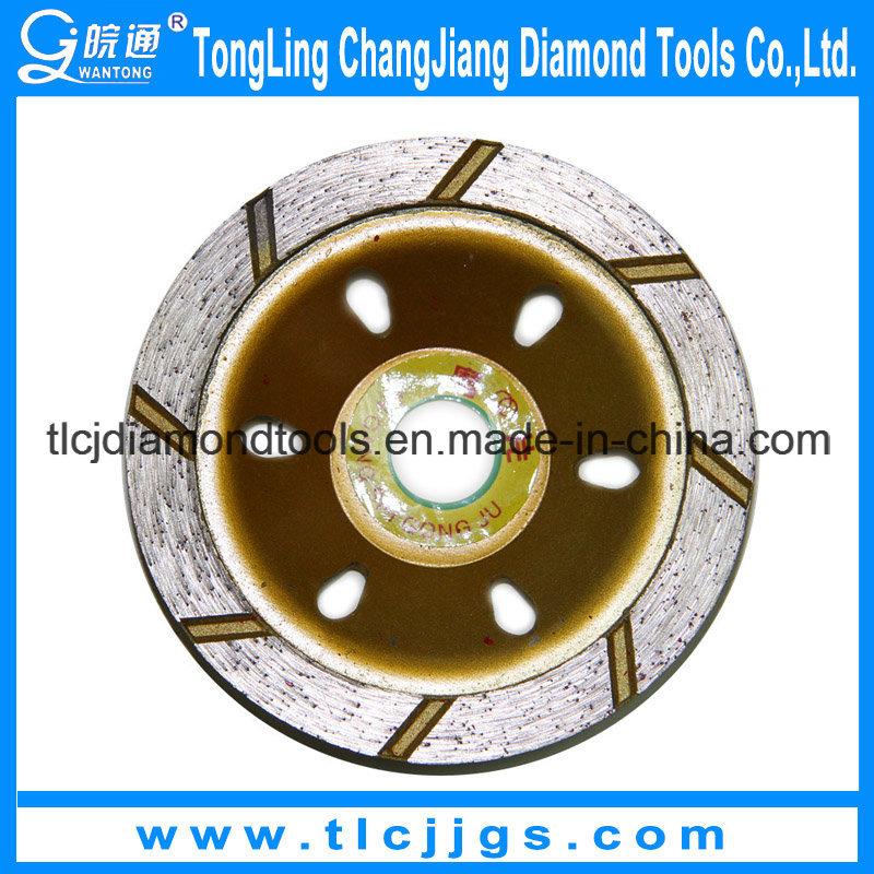 Brick Wall Diamond Grinding Wheel for Polishing Cutting