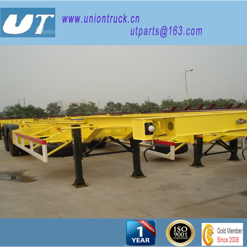Container Transportation/ 3axle Skeleton Semi Trailer/Bone Semitrailer