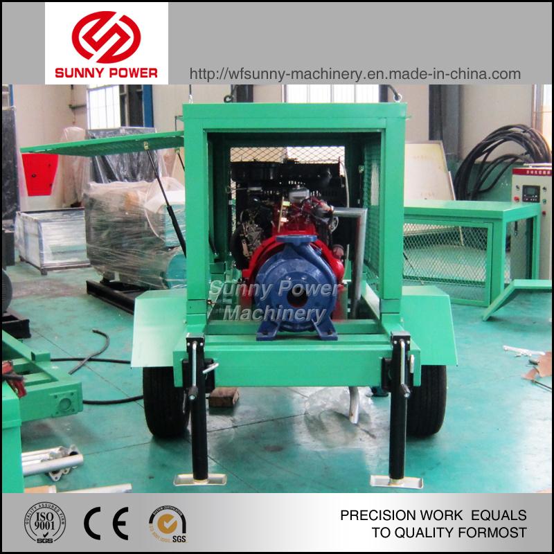 8inch Diesel Water Pump for Sprinkler Irrigation System