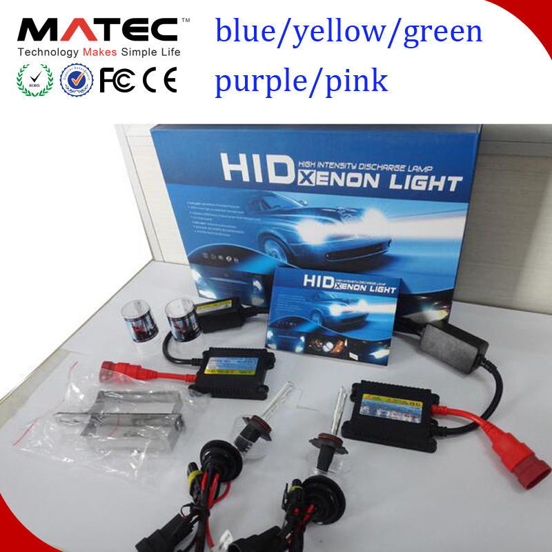 12V/24V Auto Car Single HID Halogen Hi/Lo Xenon Lamp 35W/55W/75W