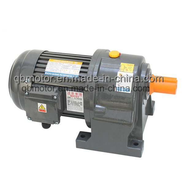 0.4kw Shaft Dia. 28mm Geared Motor Horizontal Small AC Gear Reducer