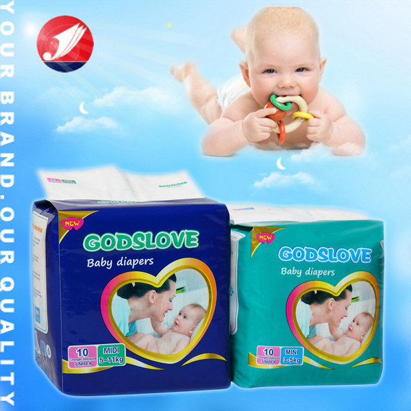 Disposable Baby Nappy with High Quality (JH45)