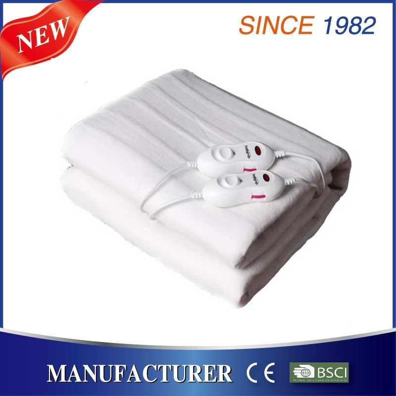 220V Washable Electric Bed Blanket with Ce GS CB RoHS