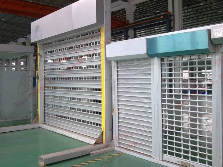High Quality Electrical Roller Shutter Door (BH-SD08)