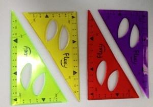 Blister Card Flexible Ruler Set