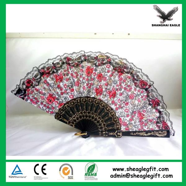 Custom Printed Folding Plastic Fans