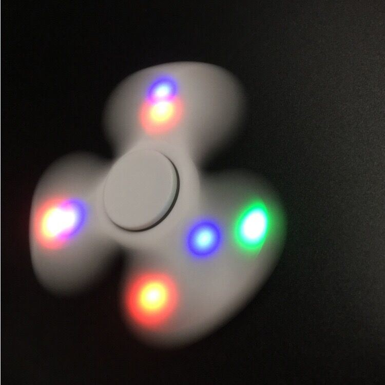 Lighting Hand Toy Spinner Colorful