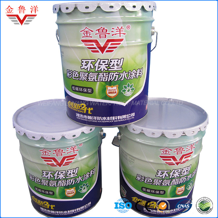 Single Component Water Based PU Waterproof Coating, Polyurethane Waterproof Coating