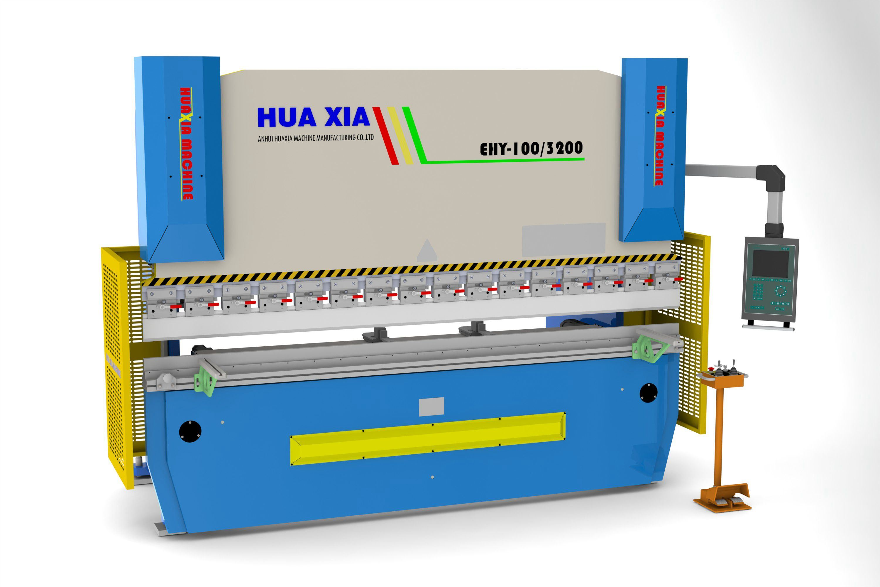 Wd67k Hydraulic CNC Press Brake Linear Encoder, Back Gauge up and Down Da52 Control or Other CNC Press Brake