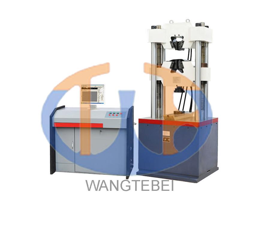 Computerized Steel Iron Factory Construction Organs Lab Field Hydraulic Universal Testing Machine