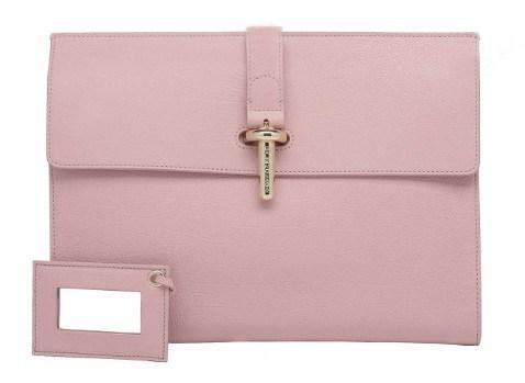 Fashion Pink Women Clutch Evening Bag (BDM003)
