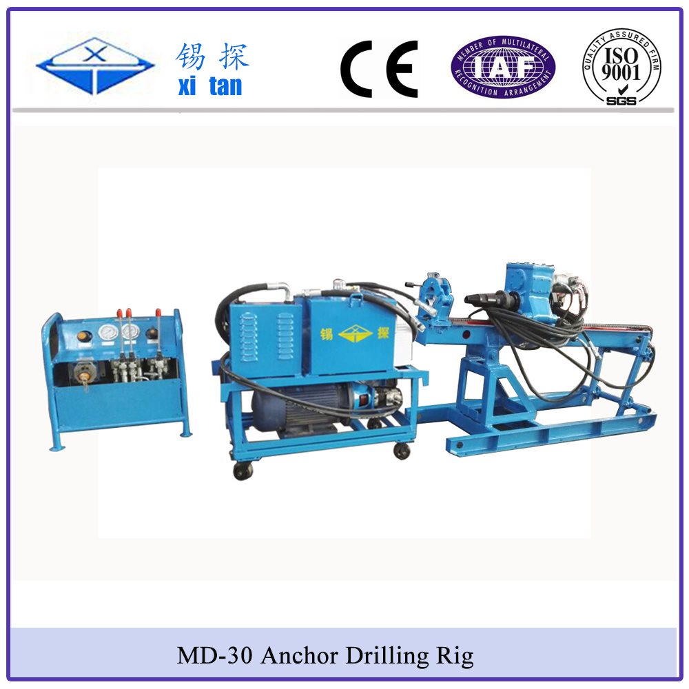 Xitan MD-30 Small Anchor Drilling Rig Simple and Light Weight Drilling Machine Compact Size