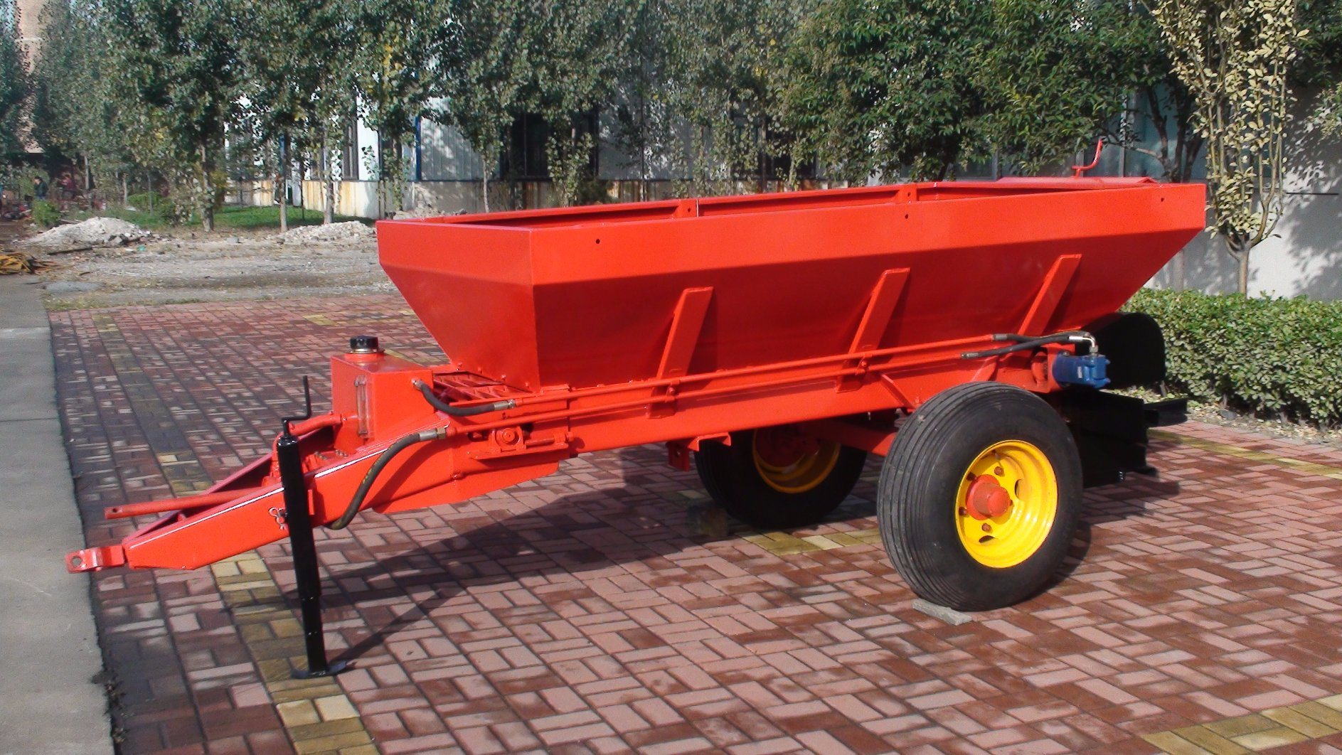 Tractor Trailed Animal Manurel Feritilizer Spreader for Sale