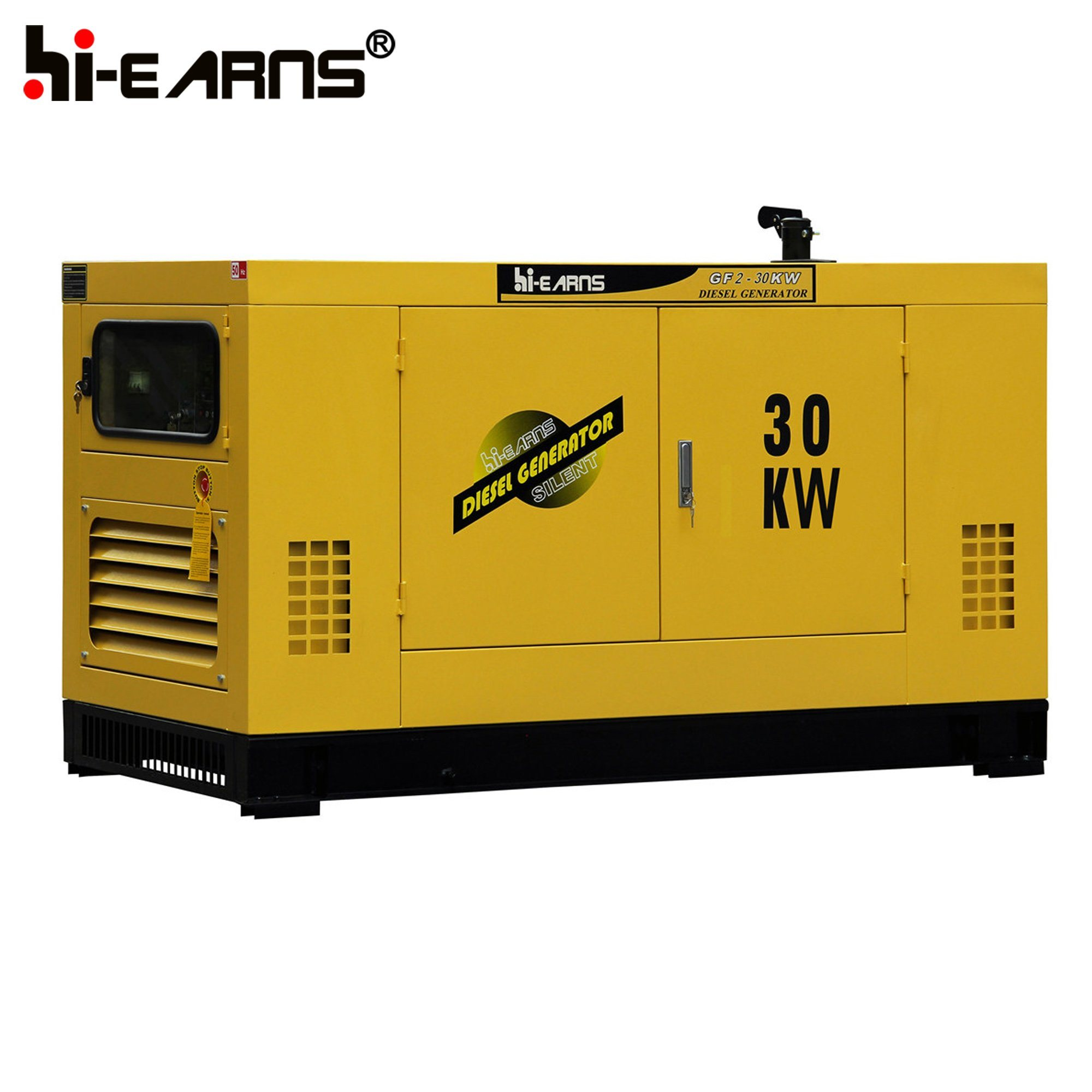 China Water Cooled Diesel Generator Silent Type with Cummins