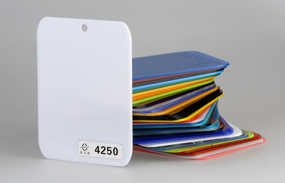 100% Virgin Color Cast Acrylic Sheet