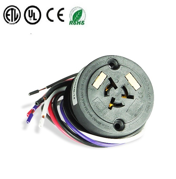 Te 2213362 Dimming Receptacle 5 Pin Lamp Socket