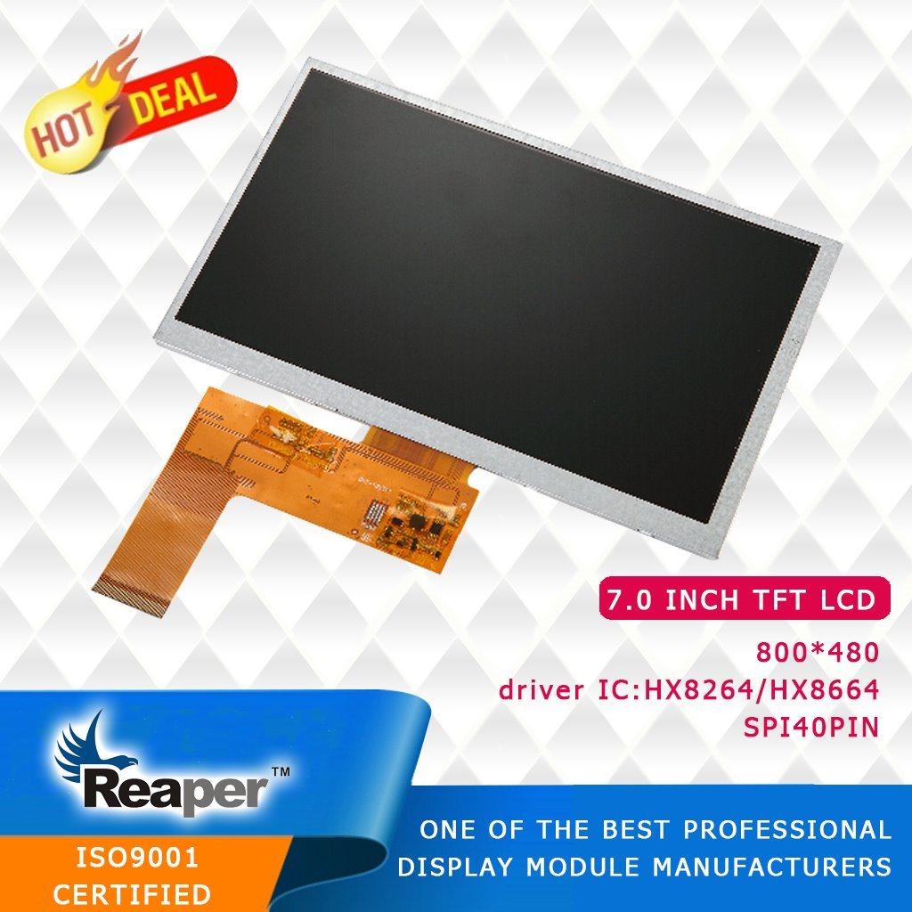 7 Inch 800*480 TFT LCD Screen Module for Car DVD/GPS/DVR