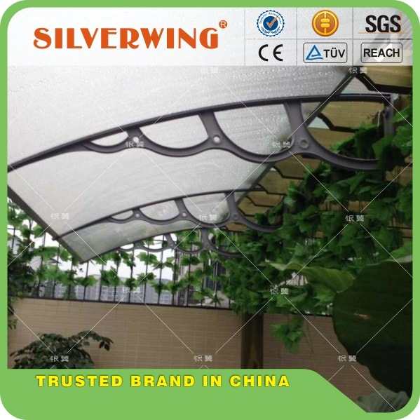 Polycarbonate Awning DIY Awning Door Canopy Window Awning Rain Awning Rain Shed Rain Shelter PC Awning