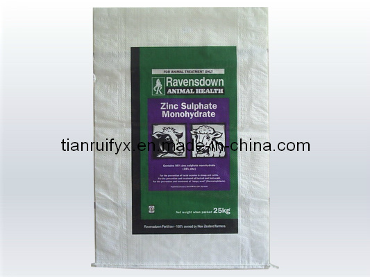 High Quality PP Woven Bag for Feed, Seed, Rice (KR101)