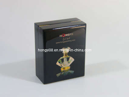 Small Magnetic Lacquered Wooden Box for Gift Packaging (HYW048)