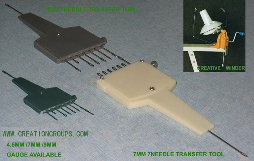 Lk150 Knitting Machine Patterns : China 1X7 Needle Adjustable Transfer Tool 6.5mm Knitting Machine Lk150 Sk860 ...